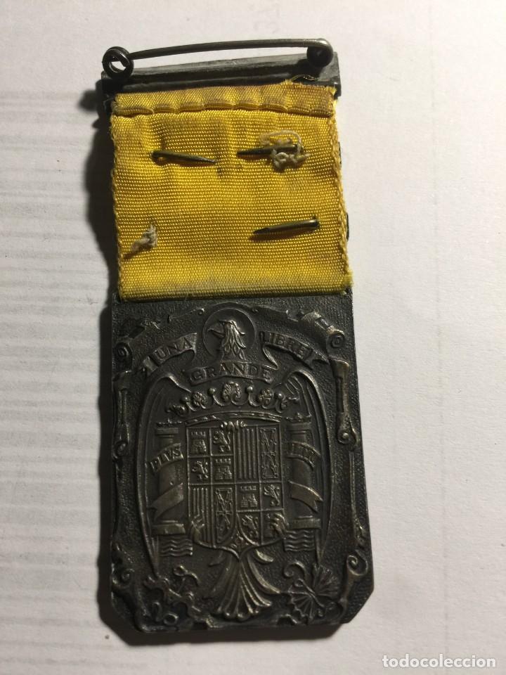 Militaria: Medalla Guerra Civil Damas auxiliares sanidad militar dos pasadores Esmaltada - Foto 2 - 141938126