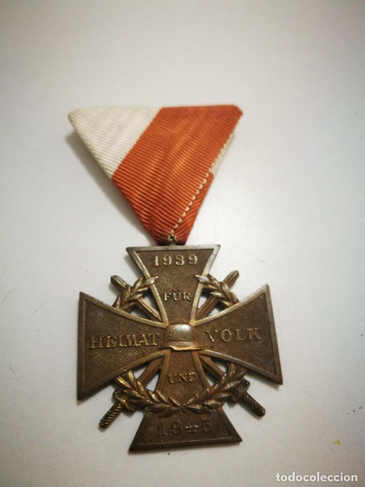 MEDALLA EX COMBATIENTES II G.M. AUSTRIA (Militaria - Originale internationale Medaillen und Orden)