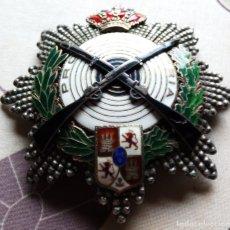 Militaria: TIRO NACIONAL ALFONSO XIII GRAN PLACA.. Lote 138024046