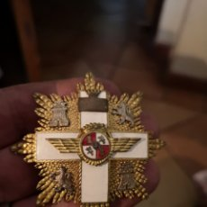 Militaria: , PLACA AL MÉRITO MILITAR AÉREO ÉPOCA FRANCO. Lote 142418170