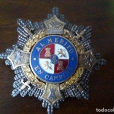 Militaria: CRUZ AL MÉRITO EN CAMPAÑA. ENVÍO CERTIFICADO GRATUITO.. Lote 142536958