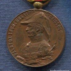 Militaria: MEDALLA DEL CENTENARIO DEL SITIO DE ZARAGOZA. 1809-1909. VERSIÓN BRONCE.. Lote 142594230