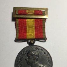 Militaria: MEDALLA ESPAÑA Y ÁFRICA - ALFONSO XIII - TODO ORIGINAL MUY BUENA. Lote 143194622