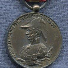 Militaria: ESPAÑA. EPOCA ALFONSO XIII. MEDALLA DEL CENTENARIO DEL SITIO DE ZARAGOZA. 1809-1909. VERSIÓN PLATA.. Lote 143299362