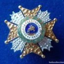 Militaria: MINIATURA DE OJAL DE LA PLACA DE LA ORDEN DE SAN HERMENEGILDO. Lote 143614042