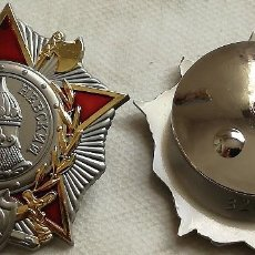 Militaria: MEDALLA ORDEN DE ALEJANDRO NEVSKI. URSS-CCCP RUSIA COMUNISTA. 1942-1989. II GUERRA MUNDIAL. RÉPLICA. Lote 143634458
