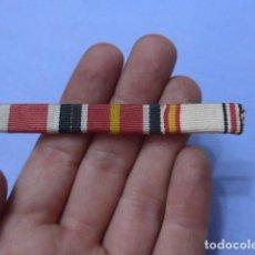 Militaria: * ANTIGUO PASADOR CON PRENDEDOR DE MEDALLAS DE DIVISION AZUL, ORIGINAL. ZX. Lote 143689598