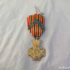 Militaria: MEDALLA DE BELGICA. L'UNION FAIT LA FORCE EENDRACHT MAAKT MACHT. DE LA ORDE DE LEOPOLDO II. Lote 144163482