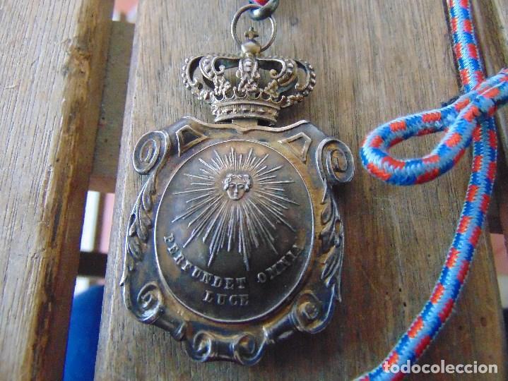 Militaria: MEDALLA DE CORDON PODER JUDICIAL ALFONSO XII PERFUNDET OMNIA LUCE ELISABETH II PUBLICAE INSTITUTIONI - Foto 3 - 144241310