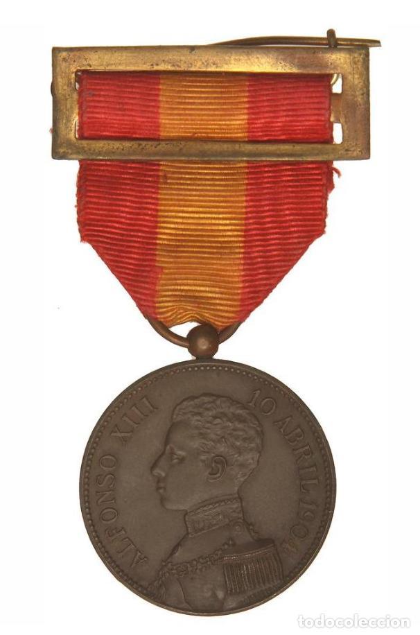 CONDECORACIÓN ALFONSO XIII 1904 EBC+ (Militar - Medallas Españolas Originales )