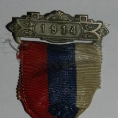 Militaria: MEDAL THE COUNTY COUNCIL OF DORSET, AWARDED FOR REGULAR ATTENDANCE, AÑO 1914, MIDE 3,2 CMS.. Lote 144316486