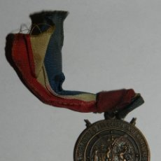 Militaria: MEDAL EDINBURGH MIDLOTHIAN MINIATURE RIFLE CLUBS 1906, DIVISION 6, AÑO 1950-51, MIDE 3 CMS.. Lote 144324102
