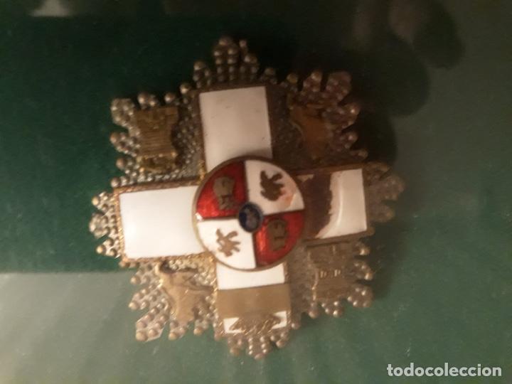 Militaria: Cuadro con medallas militares originales - Foto 5 - 144869322