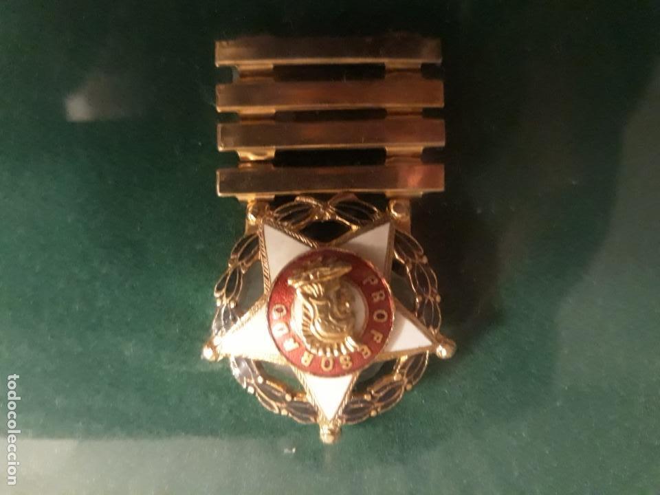 Militaria: Cuadro con medallas militares originales - Foto 7 - 144869322