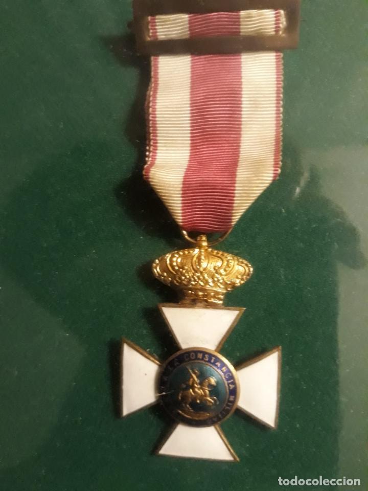Militaria: Cuadro con medallas militares originales - Foto 9 - 144869322