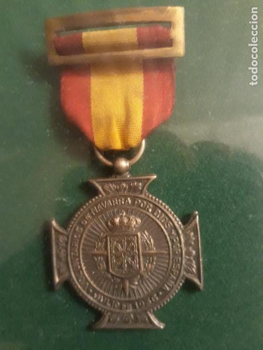 Militaria: Cuadro con medallas militares originales - Foto 10 - 144869322