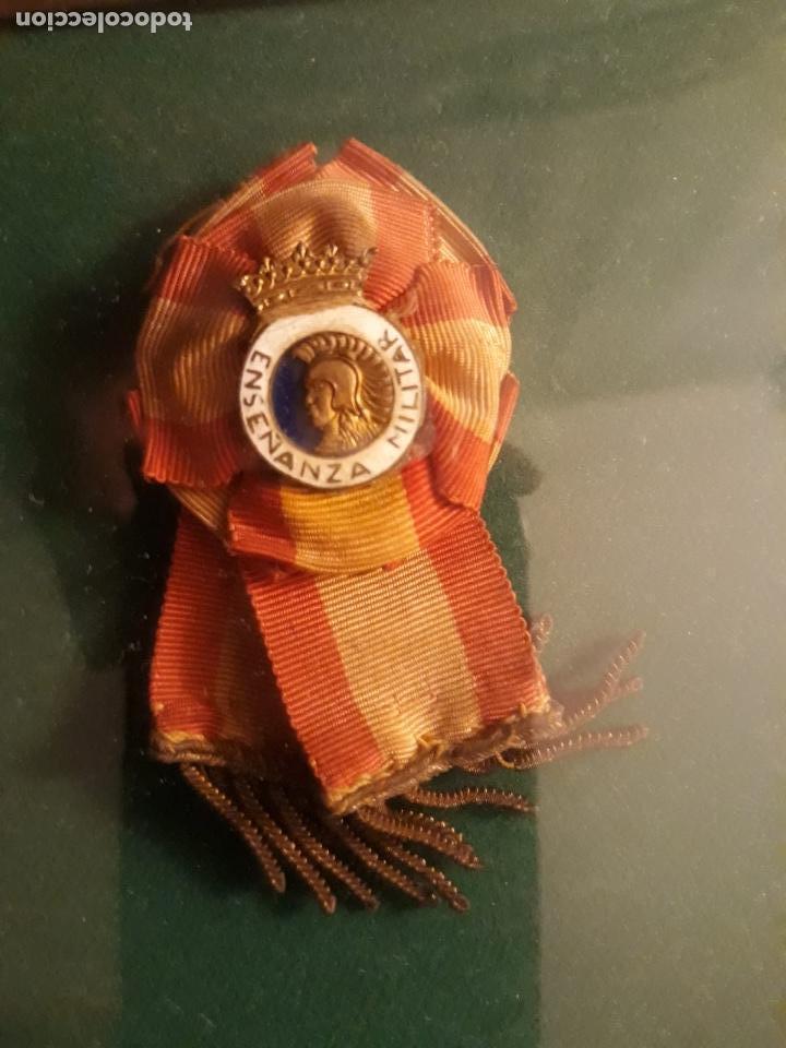 Militaria: Cuadro con medallas militares originales - Foto 14 - 144869322
