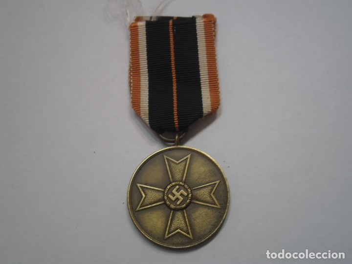 MEDALLA DEL MERITO MILITAR 1939, ALEMANIA - MEDALLA ORIGINAL CON SU CINTA (Militar - Medallas Extranjeras Originales)