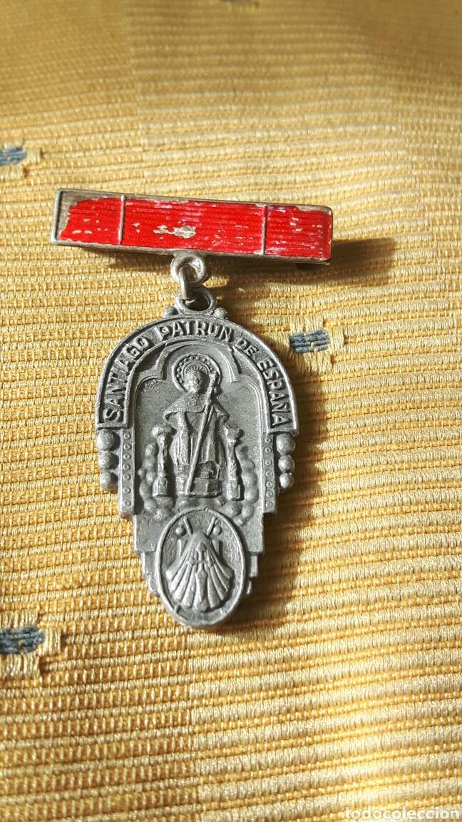 MEDALLA SANTIAGO PATRON DE ESPAÑA (Militar - Medallas Españolas Originales )