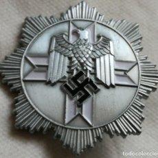 Militaria: RÉPLICA PLACA JAGDKOMANDO SS. ALEMANIA. 2ª GUERRA MUNDIAL. 1939-1945. INSCRIPCIÓN DE FABRICANTE . Lote 146710756