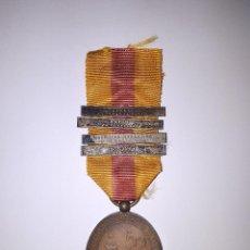 Militaria: MEDALLA DEL SITIO DE BILBAO (TERCERA GUERRA CARLISTA). VERSIÓN CASTELLS. . Lote 145997478
