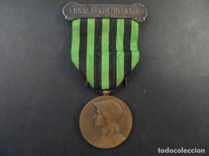 MEDALLA AUX DES DEFENSEURS DE LA PATRIE. REPÚBLICA FRANCESA. CAMPAÑA DE LA GUERRA DE 1870-1871. RARA (Militar - Medallas Extranjeras Originales)