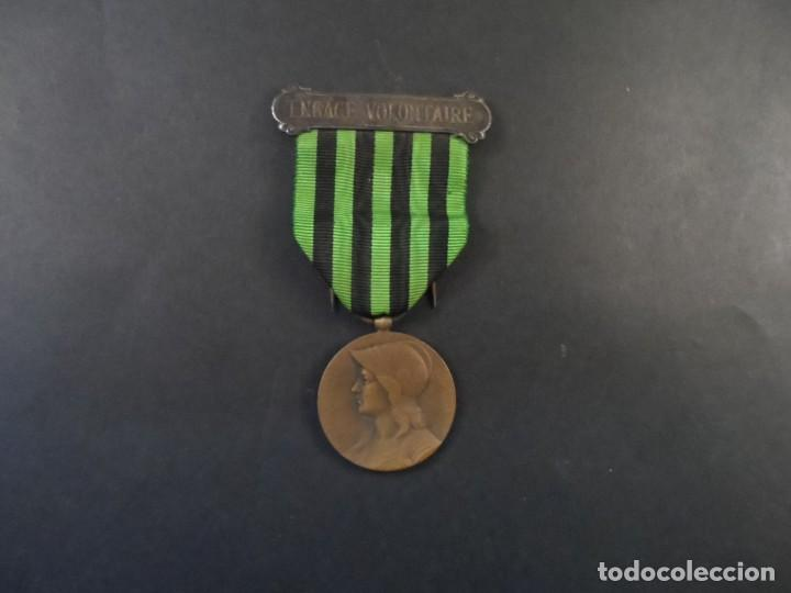 Militaria: MEDALLA AUX DES DEFENSEURS DE LA PATRIE. REPÚBLICA FRANCESA. CAMPAÑA DE LA GUERRA DE 1870-1871. RARA - Foto 4 - 146132290