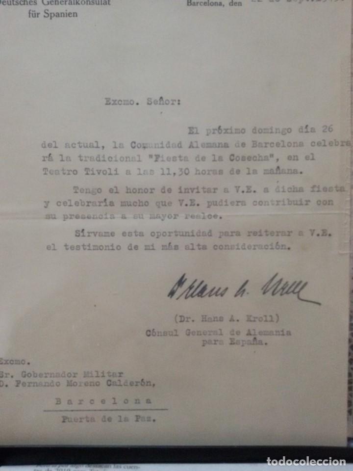 Militaria: PASADOR 8 MINIATURAS DE EPOCA -CORRESPONDIENTES AL CONSUL DR. HANS A. KROLL CON CERTIFICADO - Foto 4 - 146261258