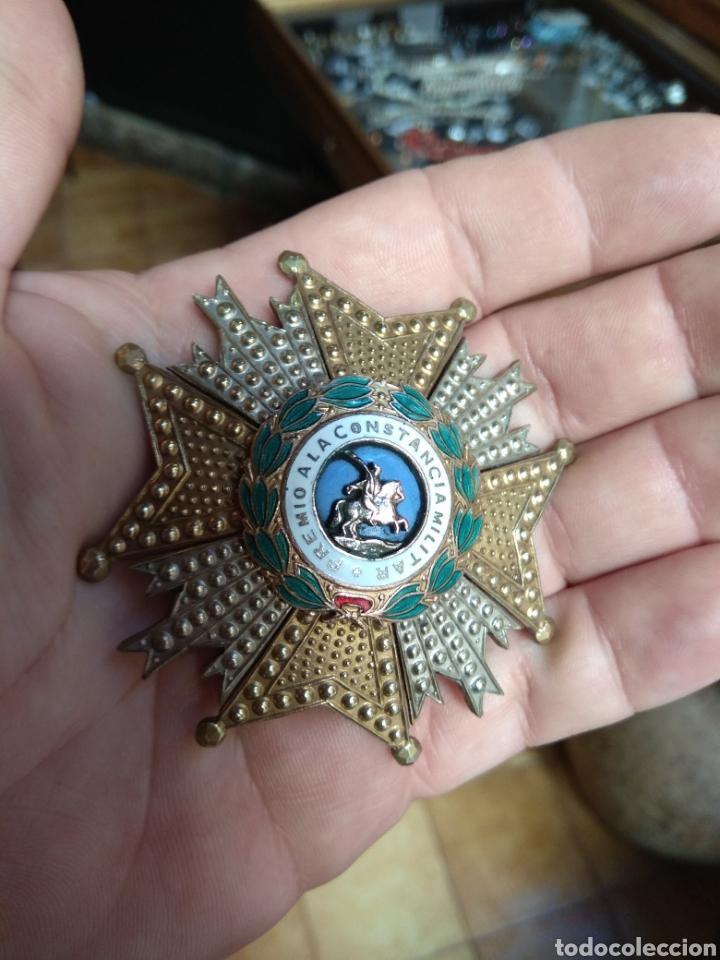 Militaria: Placa Premio A La Constancia Militar y Diploma de Concesión a Comandante de Infantería año 1965 - Foto 4 - 146293148