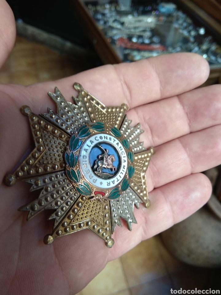 Militaria: Placa Premio A La Constancia Militar y Diploma de Concesión a Comandante de Infantería año 1965 - Foto 5 - 146293148