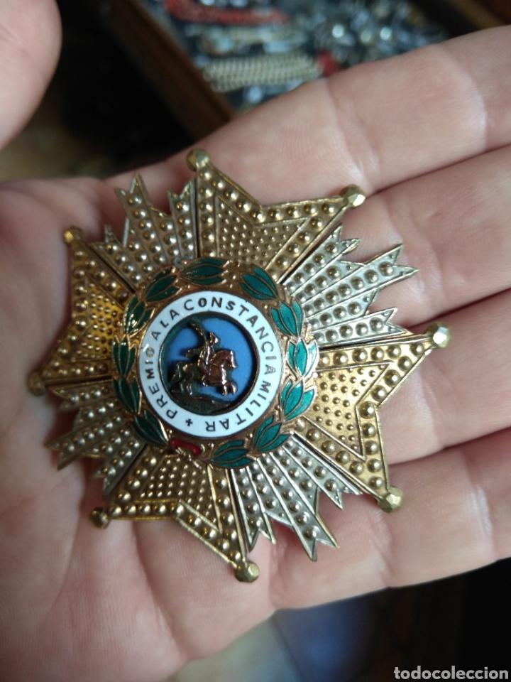Militaria: Placa Premio A La Constancia Militar y Diploma de Concesión a Comandante de Infantería año 1965 - Foto 6 - 146293148