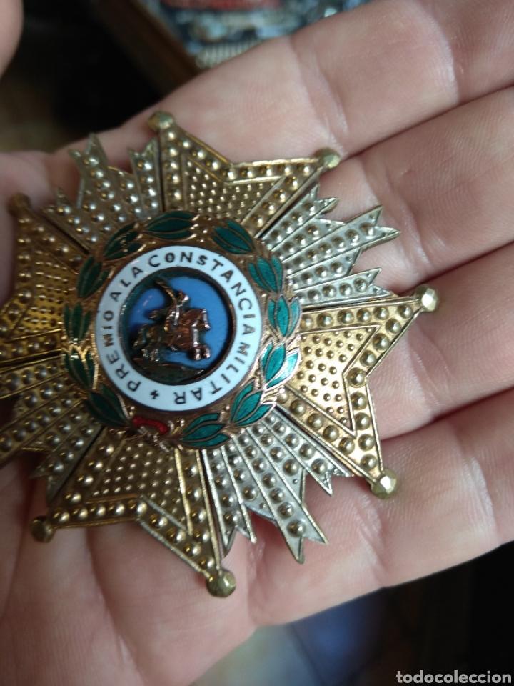 Militaria: Placa Premio A La Constancia Militar y Diploma de Concesión a Comandante de Infantería año 1965 - Foto 7 - 146293148