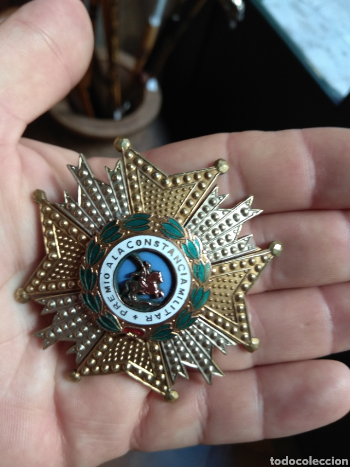 Militaria: Placa Premio A La Constancia Militar y Diploma de Concesión a Comandante de Infantería año 1965 - Foto 10 - 146293148