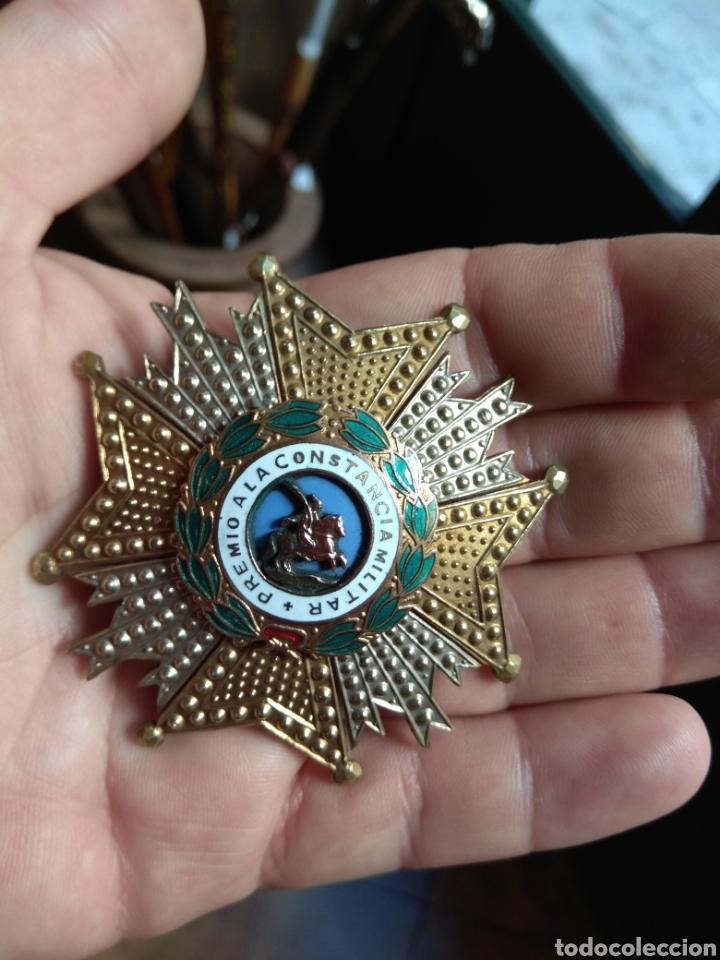 Militaria: Placa Premio A La Constancia Militar y Diploma de Concesión a Comandante de Infantería año 1965 - Foto 11 - 146293148