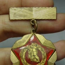 Militaria: MEDALLA MILITAR CHECOSLOVAQUIA. CON ESMALTES. SCSP.. Lote 146563286