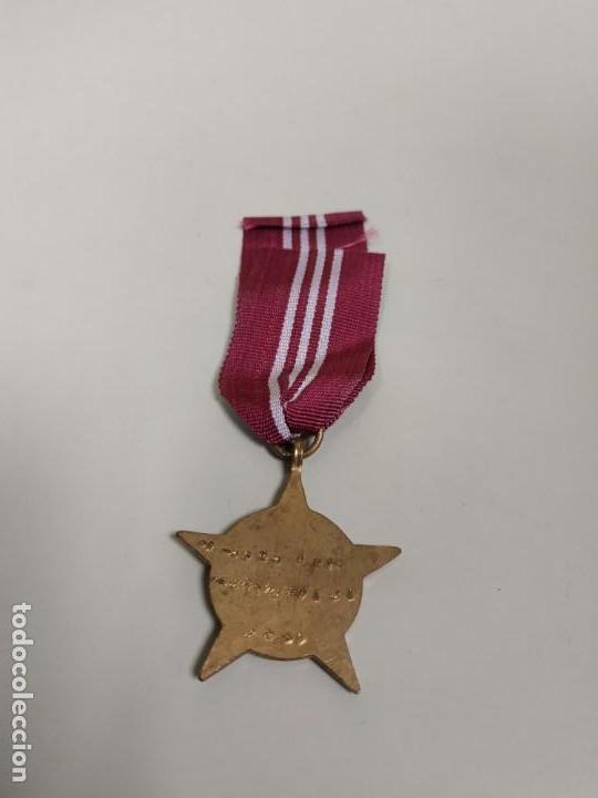 Militaria: J- MEDALLA INDIA AÑO 1971 PASHCHIMI STAR DIAMETRO APROXIMADO 3.5 CMS RARA!! - Foto 4 - 146898378