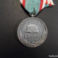 Militaria: MEDALLA PRO DEO ET PATRIA. CAMPAÑA 1ª GUERRA MUNDIAL. HUNGRIA. AÑOS 1914-18. Lote 146968394
