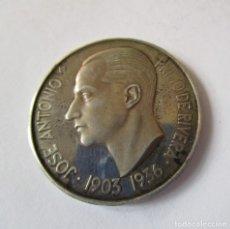 Militaria: JOSE ANTONIO PRIMO DE RIVERA . MEDALLA DE PLATA ANTIGUA. Lote 147091570