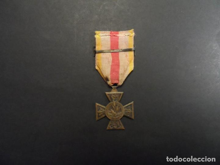 Militaria: MEDALLA COMBATANT VOLONTAIRE 1914-18 CON PASADOR. BRONCE. REPUBLICA FRANCESA. RARISIMA - Foto 4 - 147371374