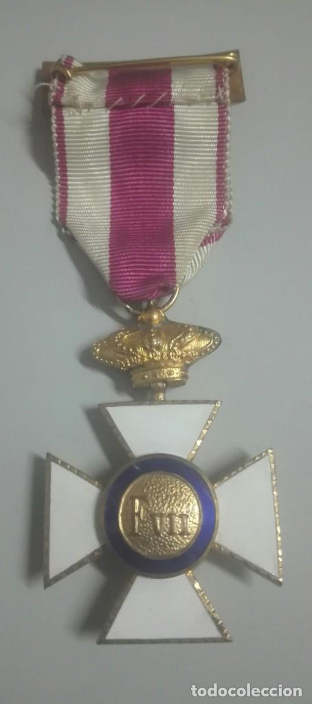 Militaria: Medalla de la Orden de San Hermenegildo - Foto 3 - 147409854
