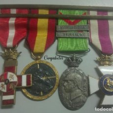 Militaria: PASADOR ÁFRICA Y GUERRA CIVIL.. Lote 147410274