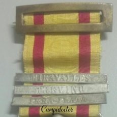 Militaria: A LOS EJÉRCITOS EN OPERACIONES. GUERRAS CARLISTAS. ACCIONES DE MIRAVALLES, TREVIÑO Y PEÑA PLATA. Lote 147412082
