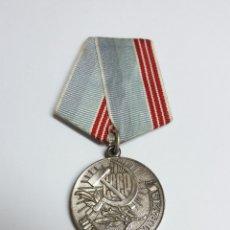 Militaria: URSS RUSIA MEDALLA VETERANO DEL TRABAJO 1974. Lote 147437769