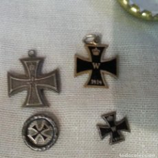 Militaria: MEDALLAS MILITARES. 1ª GUERRA MUNDIAL. 4 MEDALLAS ORIGINALES.. Lote 147465438