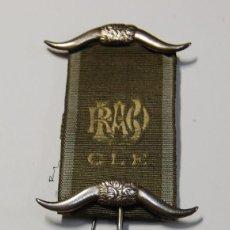 Militaria: MEDALLA MASONICA INGLESA DE PLATA MACIZA DE 1927.EXTRAORDINARIO ESTADO DE CONSERVACION.. Lote 147910686
