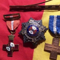 Militaria: GUERRA CIVIL. LOTE DE MEDALLAS.. Lote 148229058