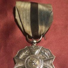 Militaria: ORDEN LEOPOLDO II PLATA. Lote 148573456
