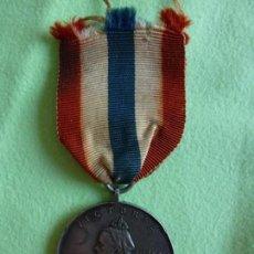 Militaria: MEDALLA PLATA EN MEMORIA DE LA REINA VICTORIA 1837-1901. EMPRESAS INDIA. Lote 149224522