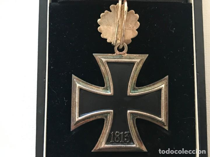 Militaria: Cruz de Caballero con hojas de roble eichenlaub ritterkreuz Tercer Reich Hitler Fuhrer NSDAP nazi - Foto 3 - 149583058