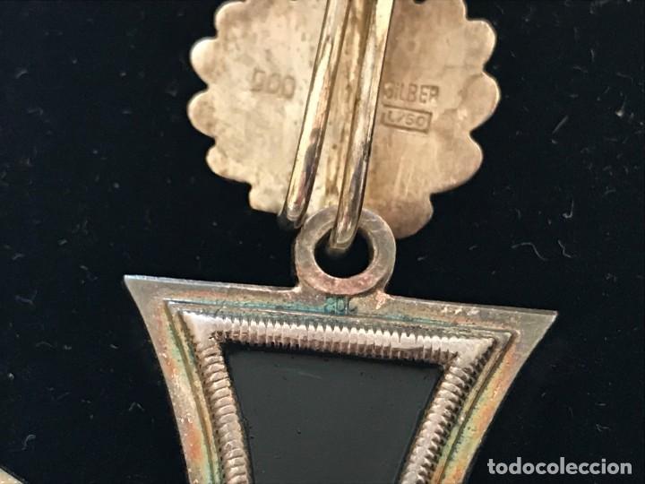Militaria: Cruz de Caballero con hojas de roble eichenlaub ritterkreuz Tercer Reich Hitler Fuhrer NSDAP nazi - Foto 6 - 149583058